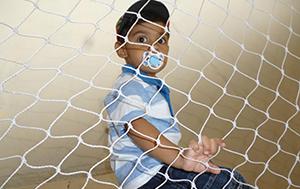 Rede de proteção para crianças