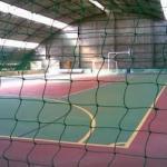 Instalação de rede para quadra esportiva