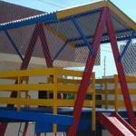 Rede de proteção para playgrounds